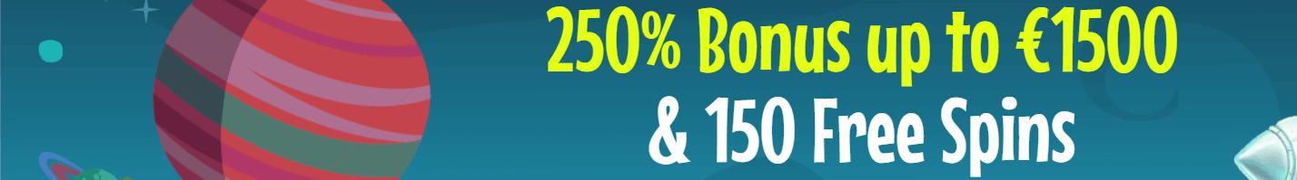 crazyni 250% bonus